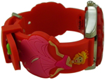 Princess Style Children Watch - Red #2