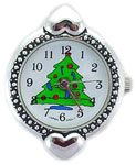 Christmas Beading Watch Face Round/Heart