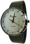 Designer Style Mesh Watch - Gun Metal