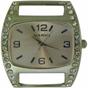 Wholesale Solid Bar CZ Ribbon Watch Face - Medium - Pink