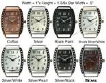 Bali Dot Oval Solid Bar interchangeable Braceleted Watch