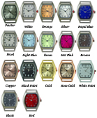 Solid Bar Ribbon Watch Faces - Small